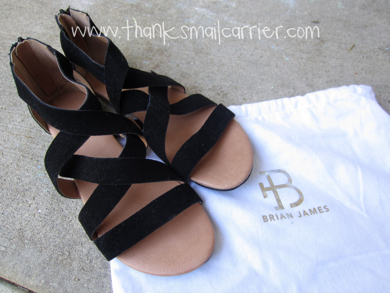 Brian James sandals