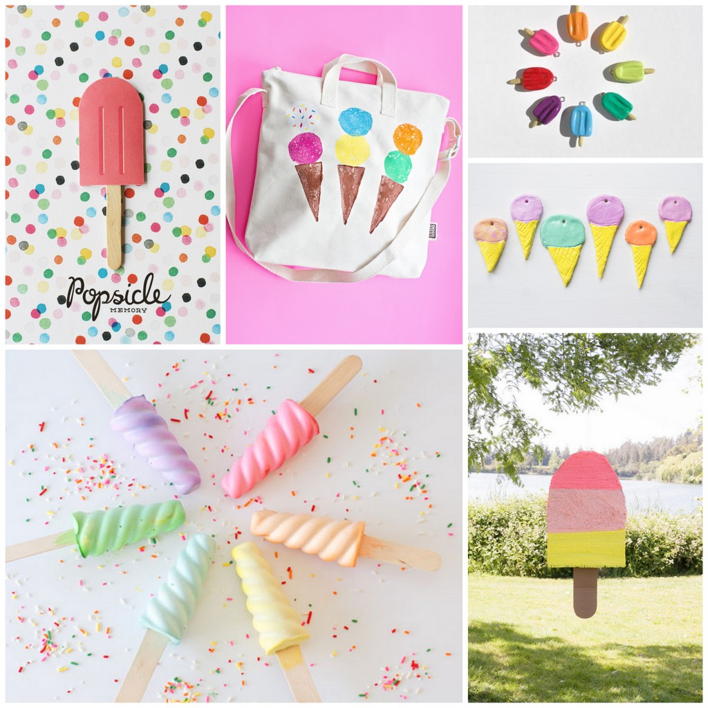 Six For Saturday Or Sunday Ice Cream Crafts Kids