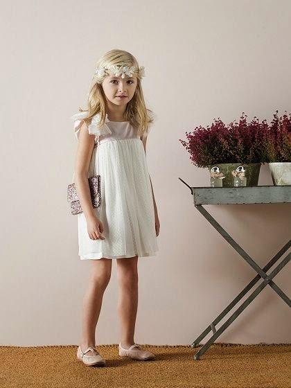 moda fiesta para niña Nanos