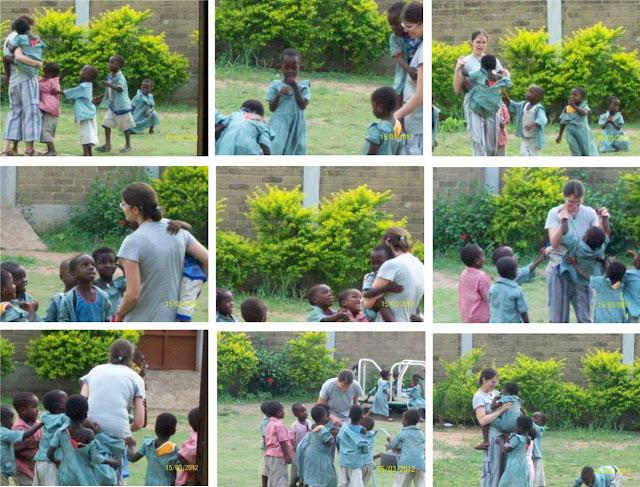 Momenti di gioco alla scuola della Missione di Atchanvè