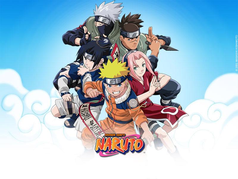 Shonen Jumps Naruto And Friends Wallpaper
