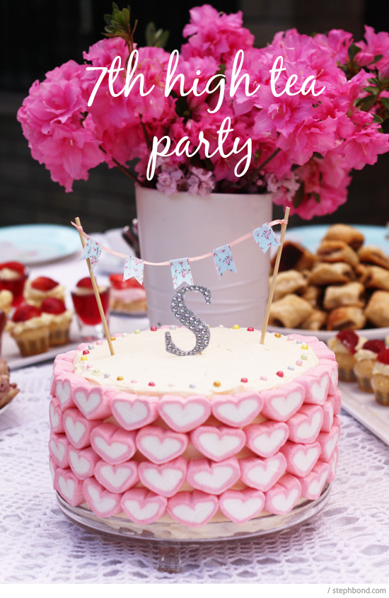 Bondville My Daughters High Tea Party 7th Birthday