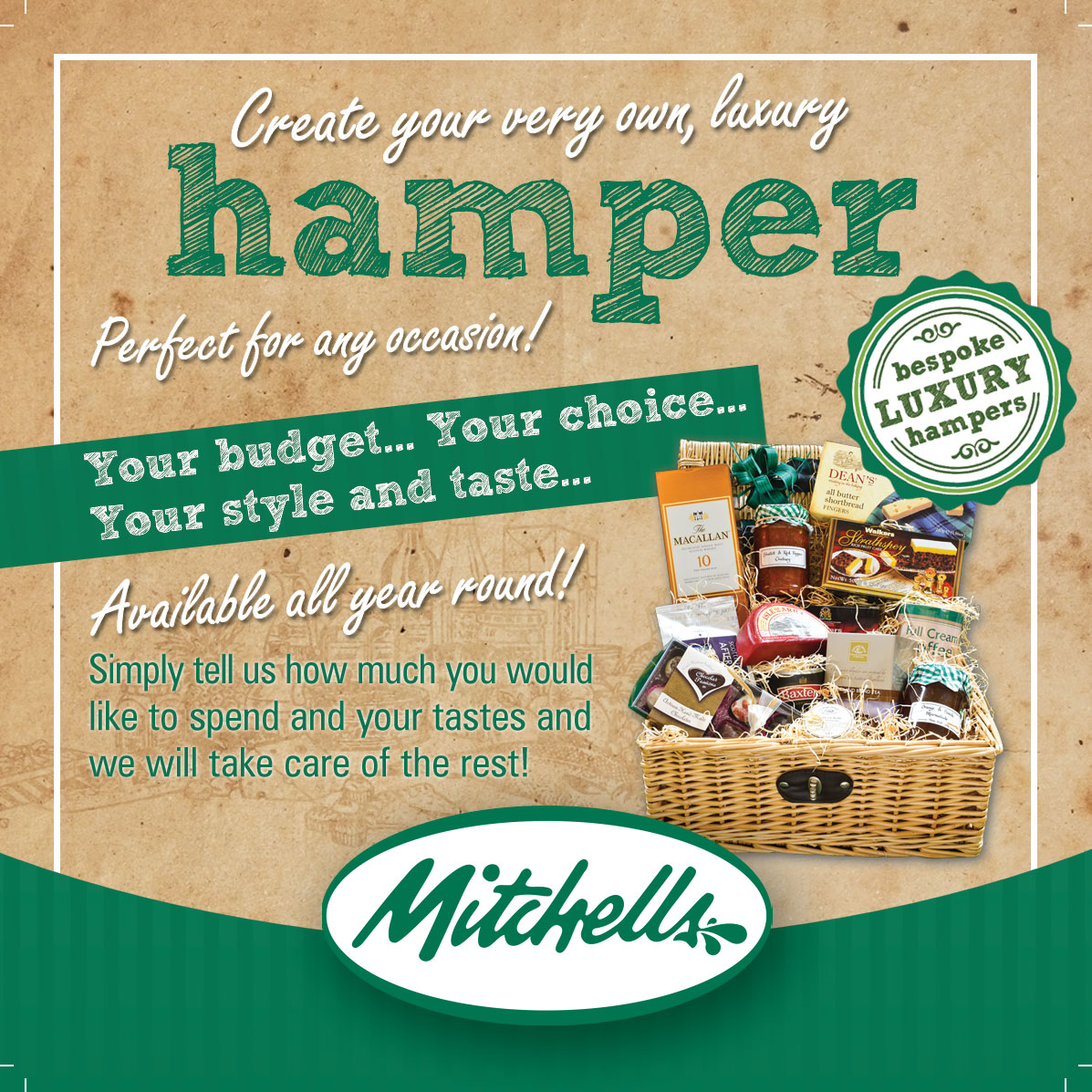 Mitchells of inverurie hampers the perfect