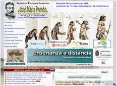 Web del IES José Mª Pereda
