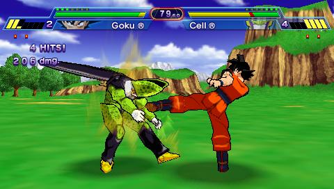Download Game Dragon Ball Z Shin Budokai for PPSSPP