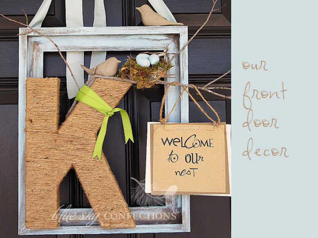 I Googled Front Door Decor And Saw A Few Unique Takes.