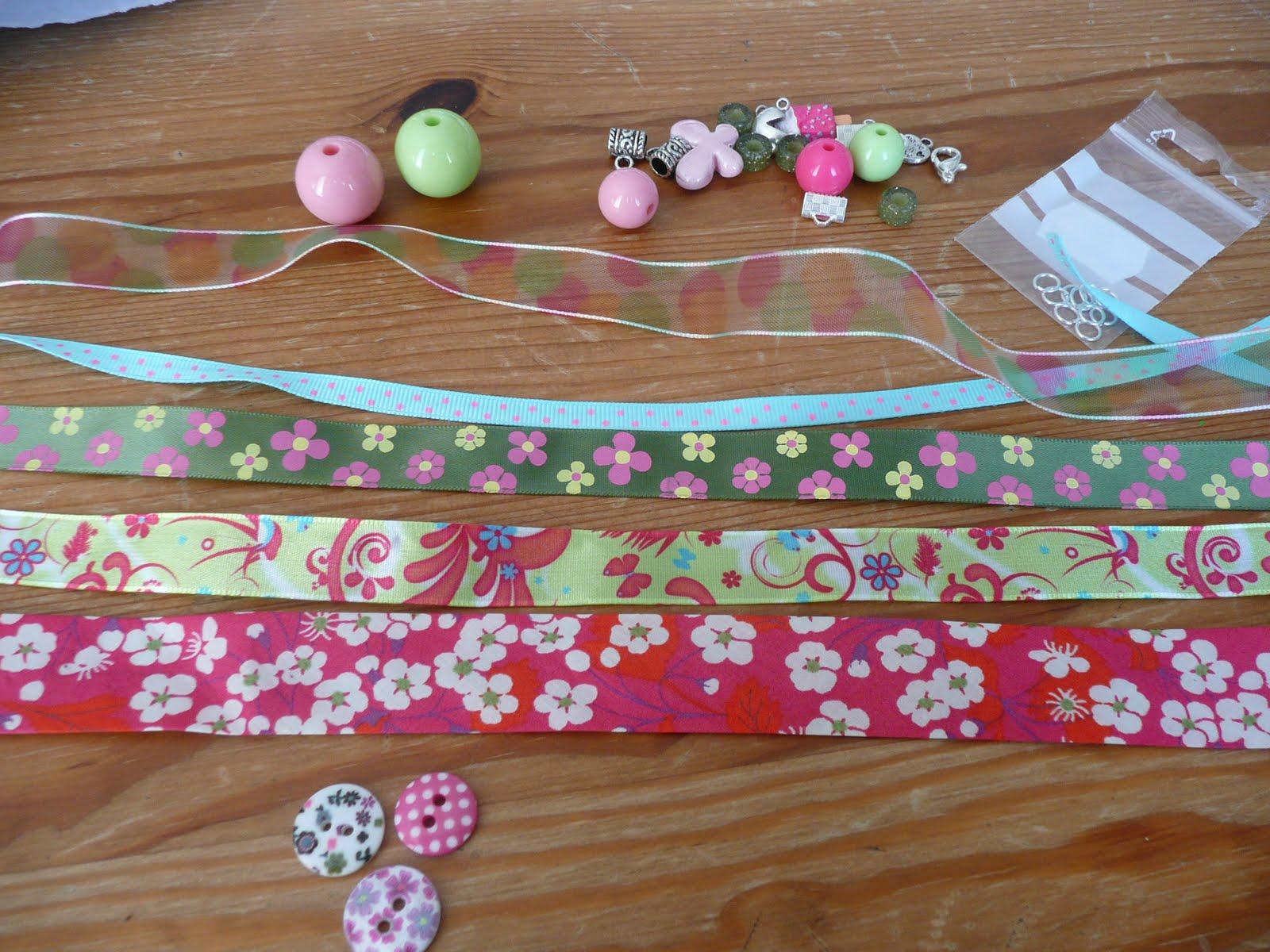 Vaneli cosm tiques maison mes achats pour des bracelets for Maison de ruban