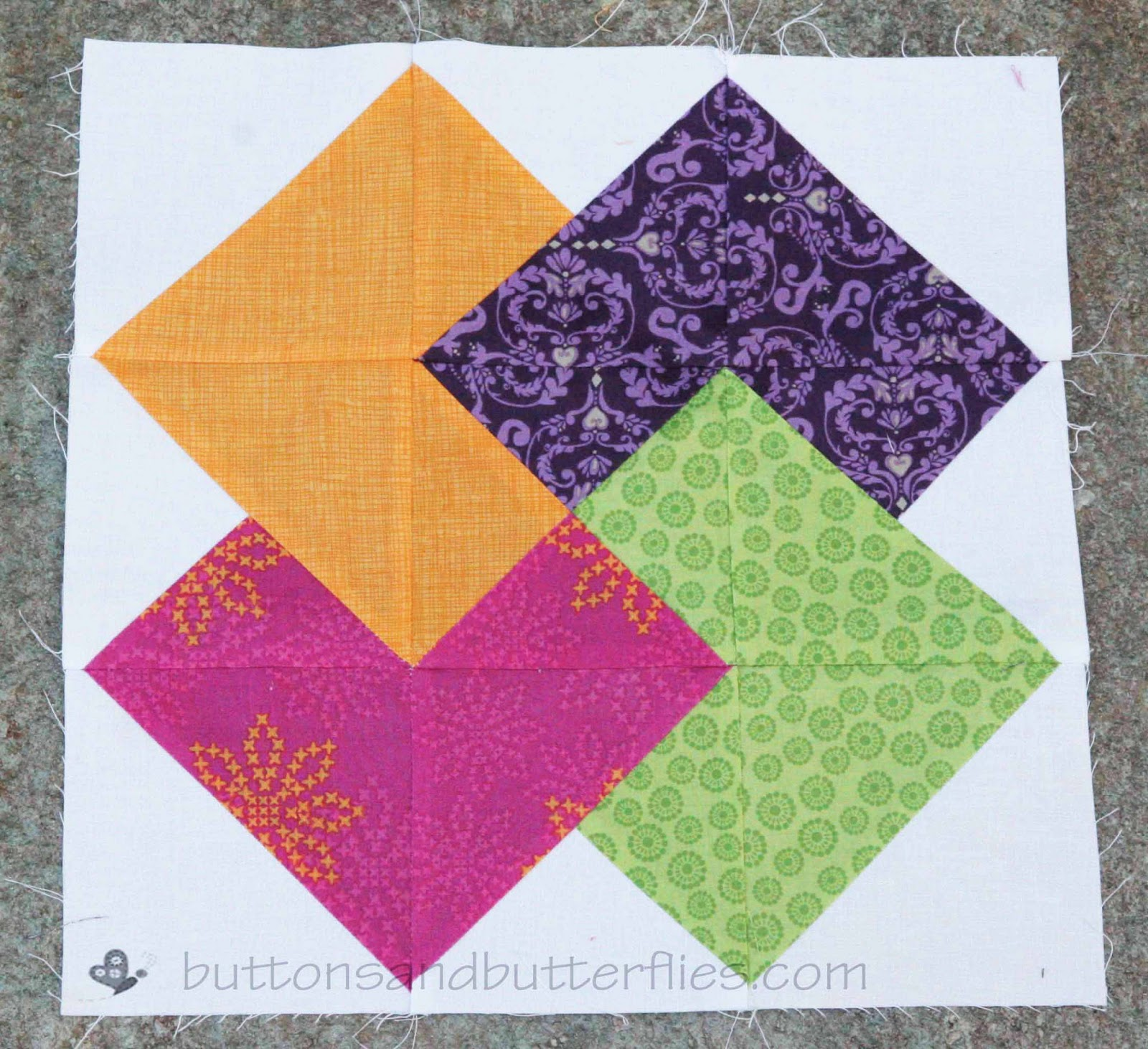 Quilting Pattern Card Trick Block : 12 5 quilt block patterns - Video Search Engine at Search.com