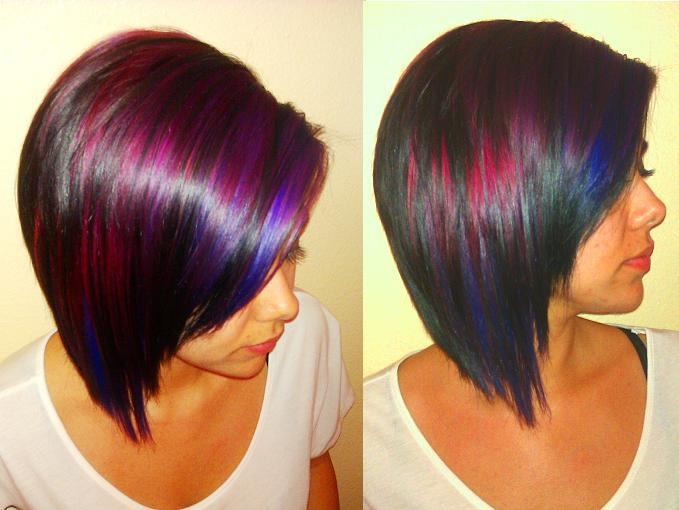 Short Funky Hair Color Ideas  Short Hairstyle 2013