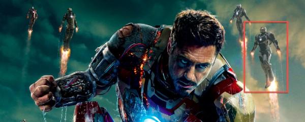 Iron Man 3 Poster Tony Stark - detalle Space Armor