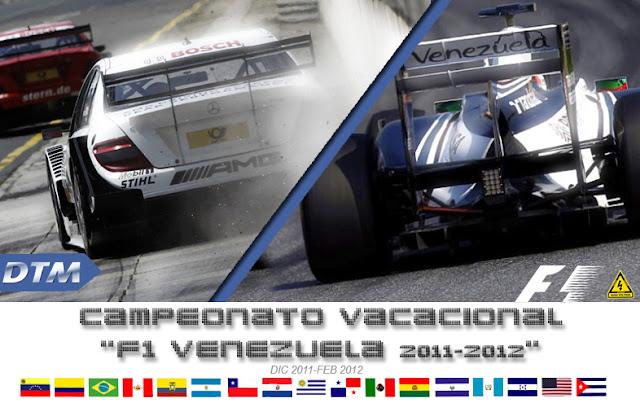 Campeonato rFactor DTM y F1