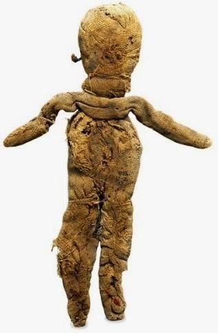عروسة من القماش من العصر الرومانى –المتحف البريطانى