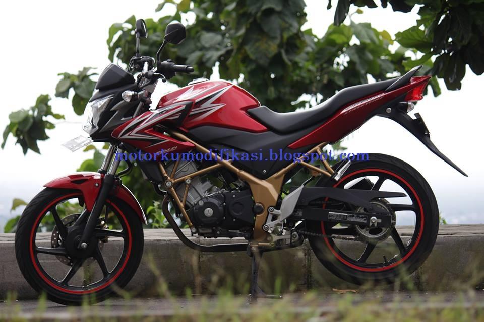 modifikasi honda cb150r Modifikasi Cutting Motor Honda Cb 150 R