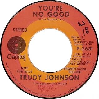 Trudy Johnson Youre No Good