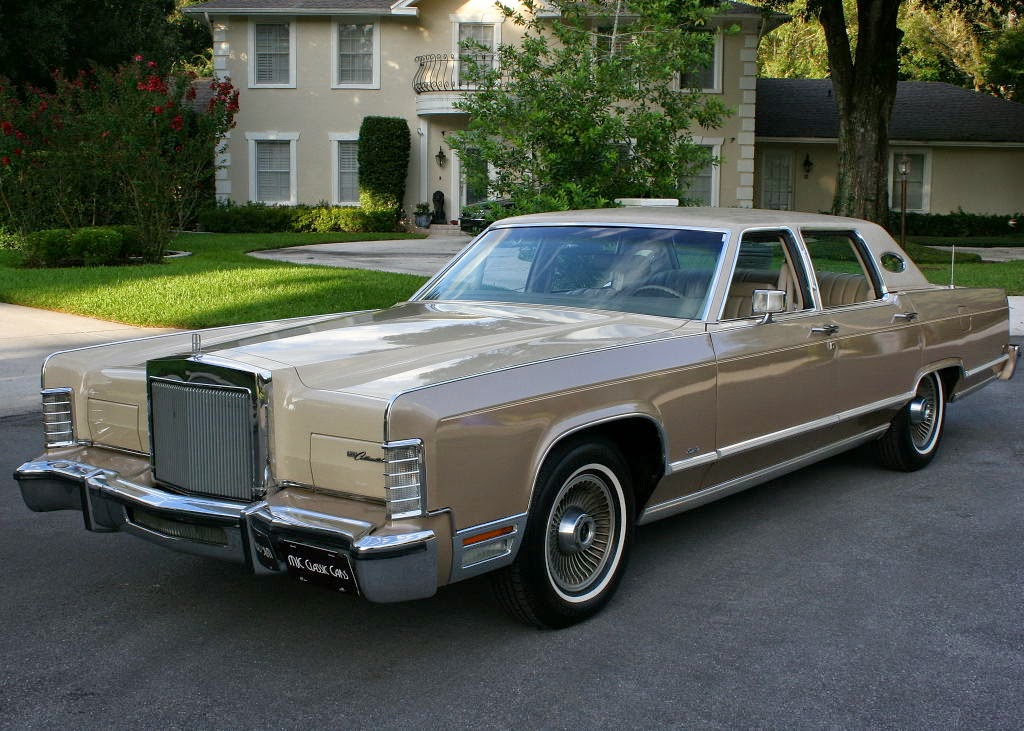 all american classic cars 1978 lincoln continental town. Black Bedroom Furniture Sets. Home Design Ideas