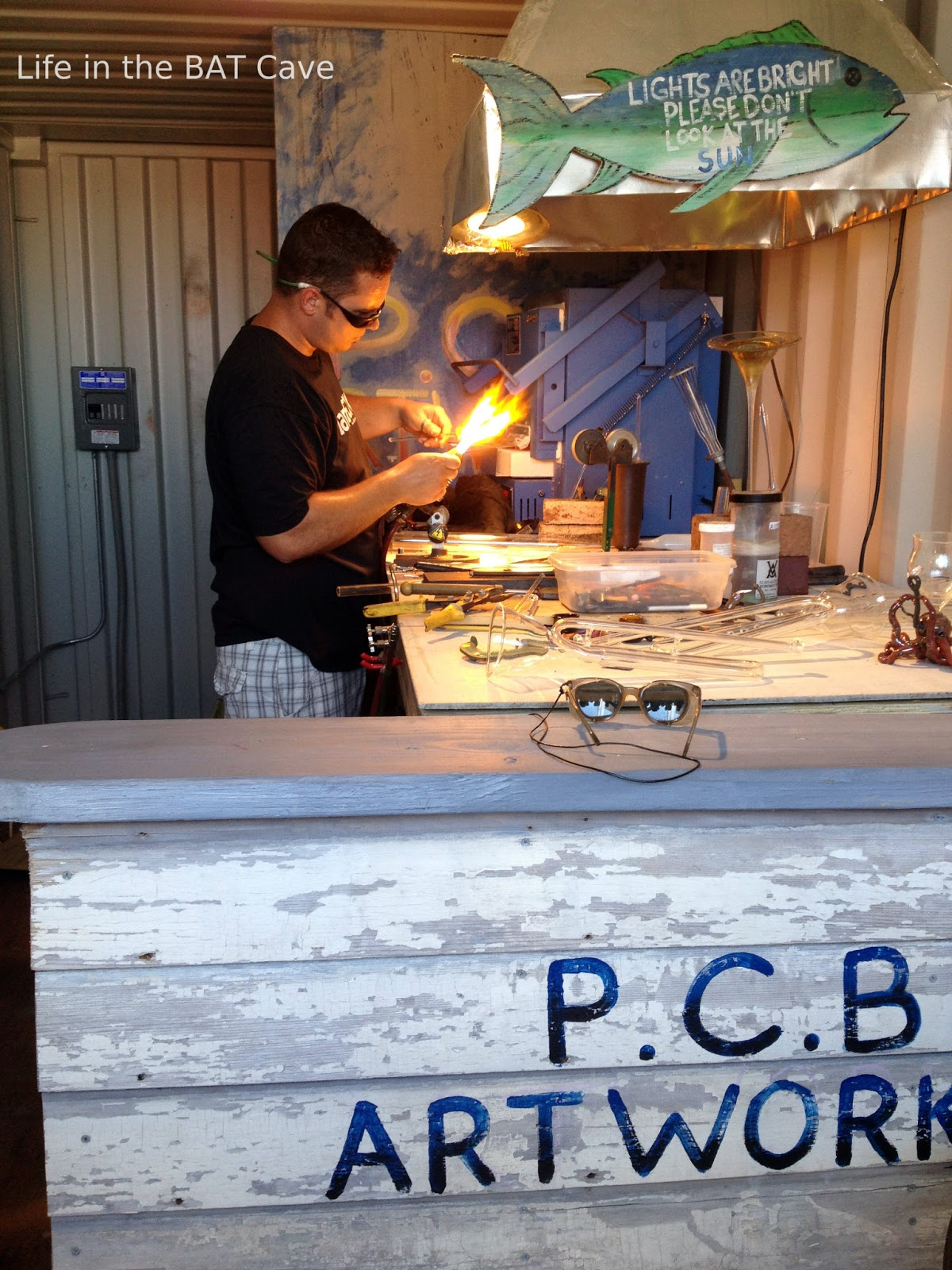 artBox, glass blowing, Wildwood Boardwalk, Adventure Pier, Morey's Piers