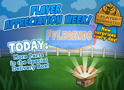 FarmVille Player Appreciation Week