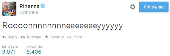Rihanna Turns World Cup 2014 Analyst on Twitter