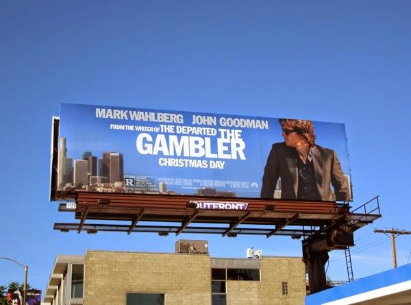 The Gambler movie billboard