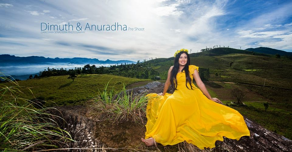 Dimuth Amp Anuradha Pre Shoot Moments Gossip Lanka News
