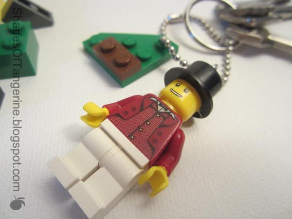 Missing Lego Brick Lego Key Ring Tag
