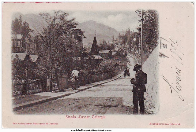 Strada Lascar Catargiu din Sinaia