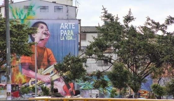 Acuerdo de la practica del graffiti en Bogotá