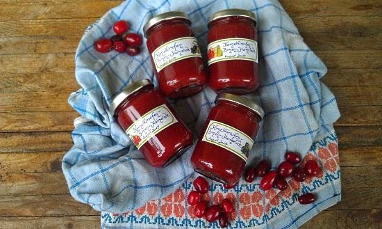 Marmelade mit Kornelkischen