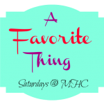 "I was honoured to be featured on ""A Favourite Thing"" !"