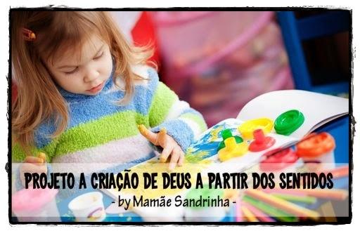 Projeto A Criação de Deus a partir dos Sentidos...