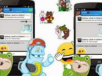 Trik Mendapatkan Stiker Gratis BBM Android