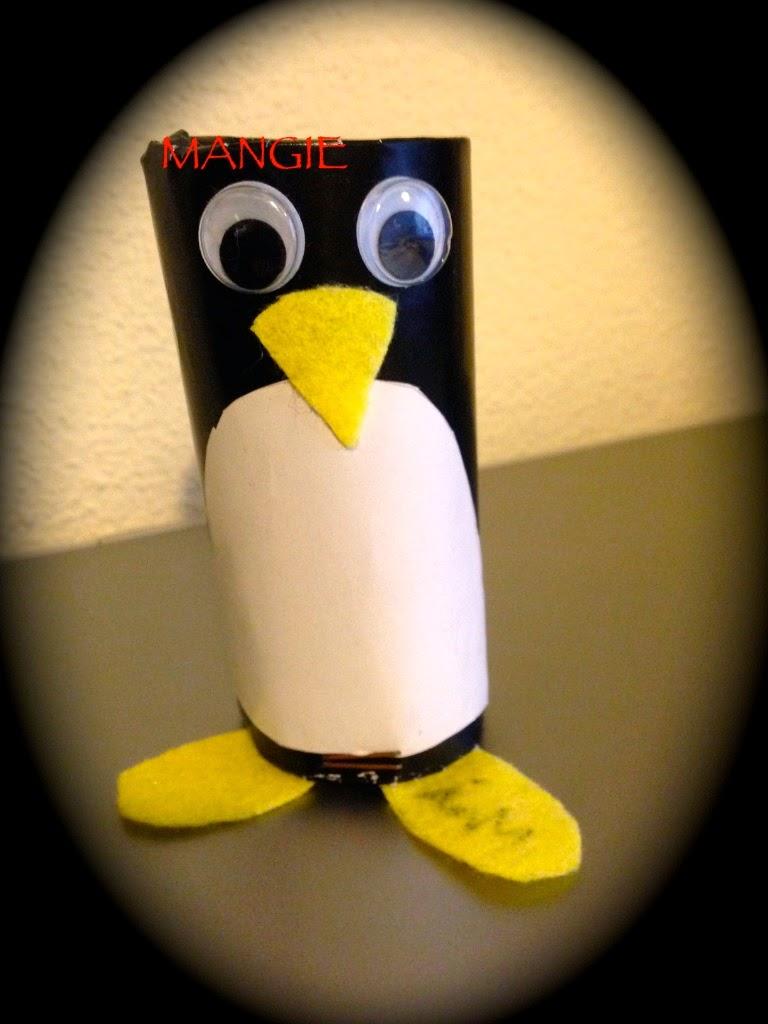 Pingüino papel