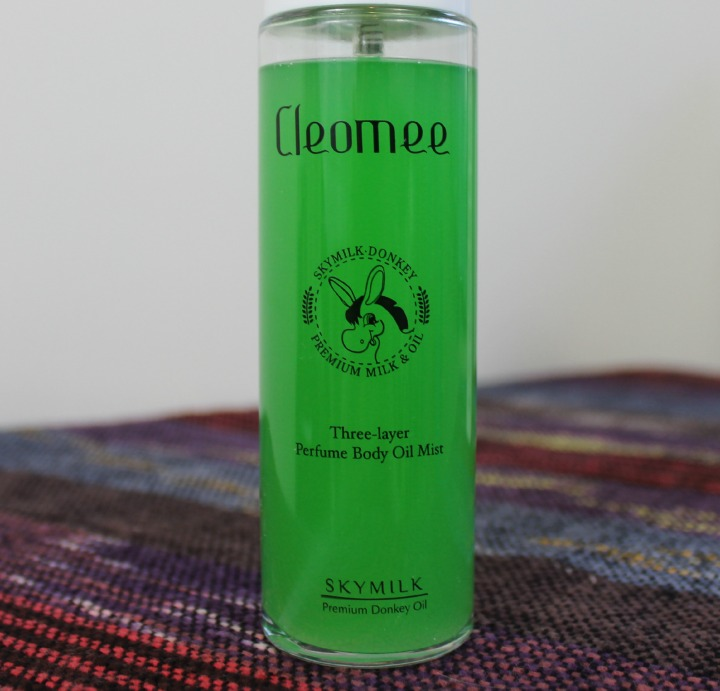 Skymilk Cleomee Three-Layer Perfume Donkey Oil Mist