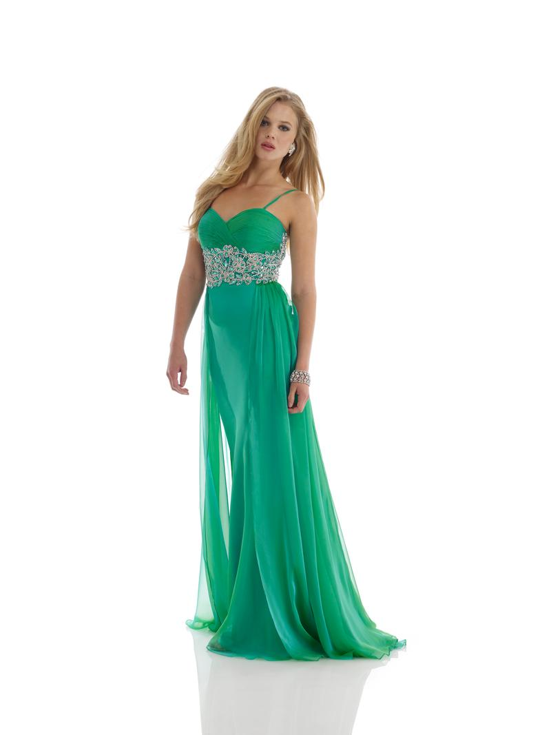 Haute Swan: Mint Madness for Morrell Maxie Evening (Prom) Dress Size 14