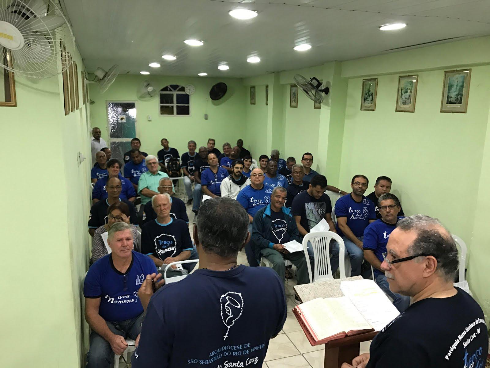 TERÇO NA CAPELA SÃO CAMILO DE LÉLLIS EM SANTA CRUZ - 17/07/2017