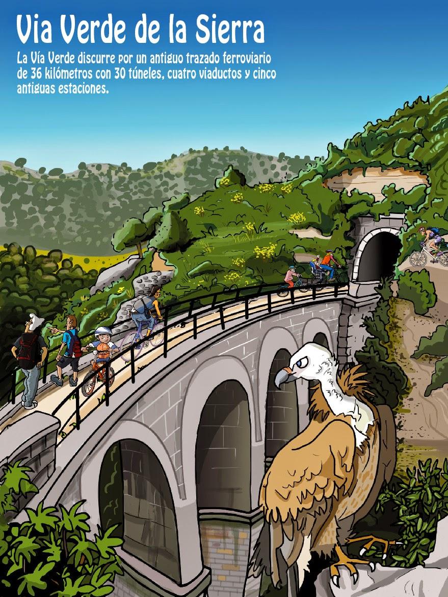 """<img src=""""Via Verde de la Sierra.jpg"""" alt=""""Rutas en bicicleta""""/>"""