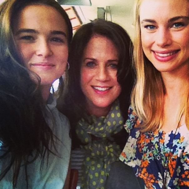 Dhir and moroi sandwich with zoeydeutch marciliroff