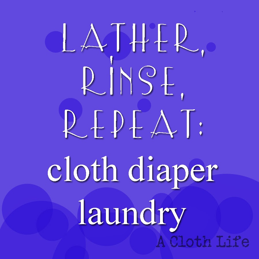 cloth diaper laundry routine suggestion: A Cloth Life