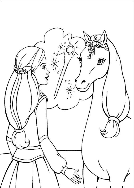 Refreshing image intended for barbie coloring pages printable