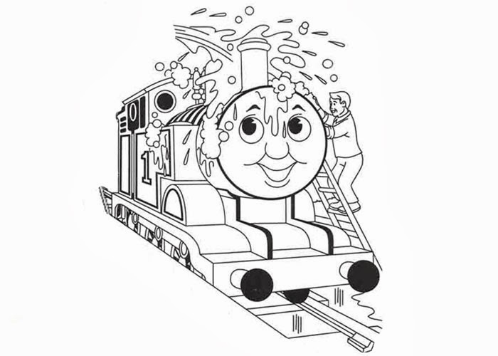 emily train coloring pages - photo#36