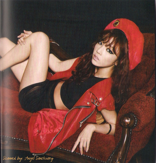 SEXY GOOHARA PICTURE SCAN Girls Forever Magazine