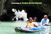 Canoing at Talu Island