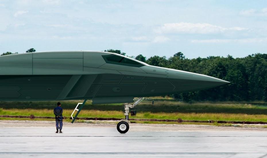 CGI of Chinese H-18 Medium Range Supersonic Stealth Bomber ...