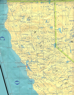 Map of Northern California 4