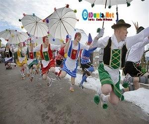 Tradisi tahun baru di Belarus