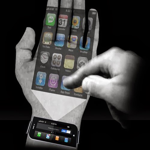 Future cell phone technology features