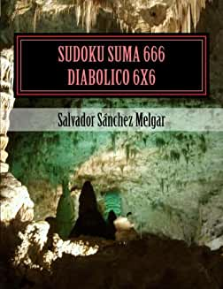 Sudoku Suma 666 Diabólico 6X6