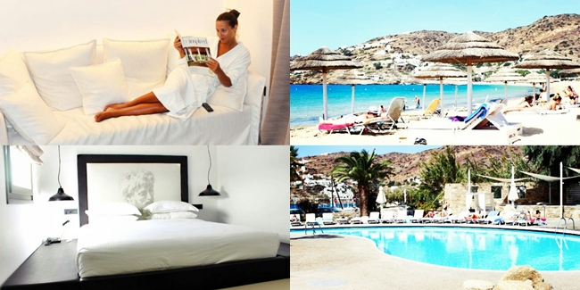 Jelena Zivanovic Instagram. Liostasi suite (room 56), Liostasi hotel & spa (Ios, Greece).  Mylopotas beach, Far out beach club.