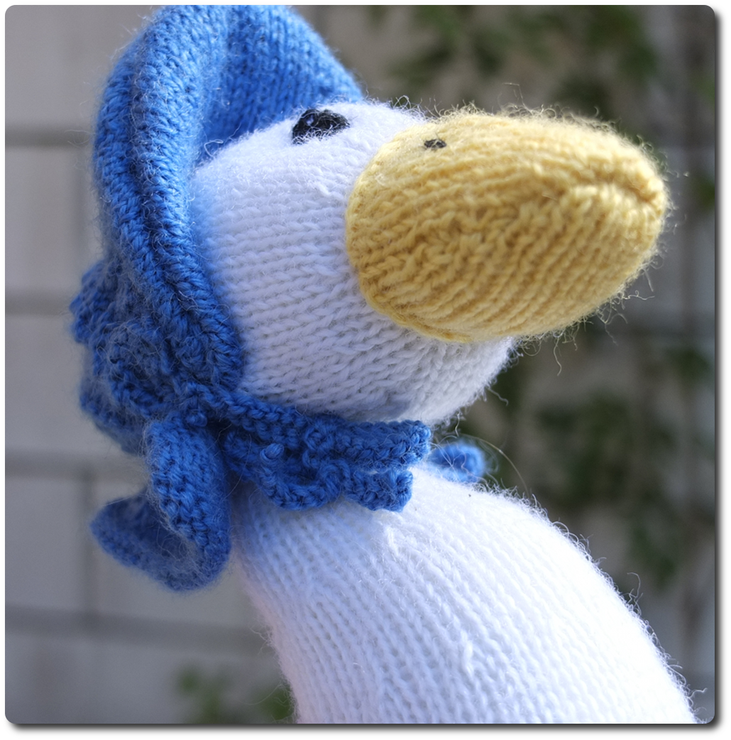 Knitty Nerd: Jemima Puddle-Duck