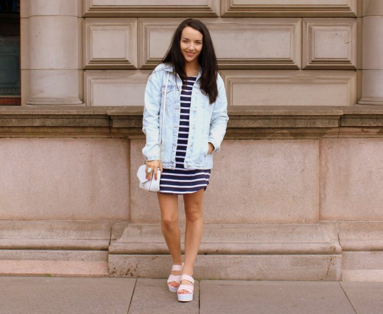 Oversized Denim Jacket Outfit of the day
